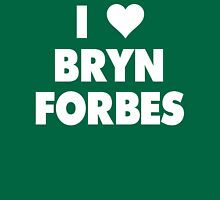I LOVE BRYN FORBES Michigan State Spartans Basketball Womens Fitted T-Shirt