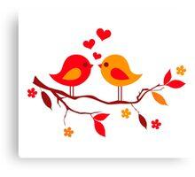 cute birds #10 Canvas Print
