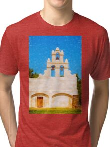 Mission San Juan Capistrano  Tri-blend T-Shirt