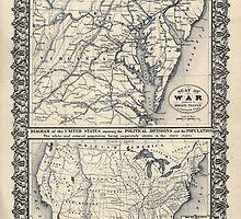 Civil War Maps 1569 Seat of war by wetdryvac