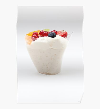 rice pudding from fruit Poster