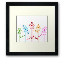 cute birds #11 Framed Print