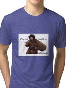 Belsnickel Dwight- The Office Tri-blend T-Shirt