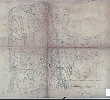 Civil War Maps 0591 Loudoun County Virginia 186- by wetdryvac