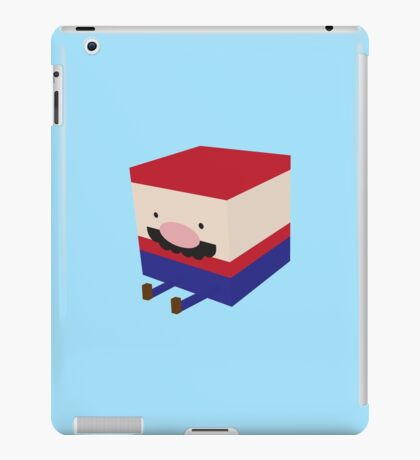Blockio iPad Case/Skin