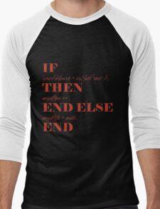 If your heart ... Men's Baseball ¾ T-Shirt