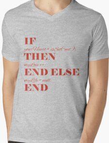 If your heart ... Mens V-Neck T-Shirt