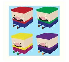 Blockios Art Print