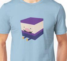 Purple Blockio Unisex T-Shirt