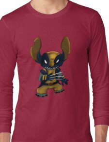 Stitch Wolverine Long Sleeve T-Shirt