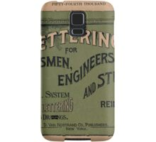 Lettering for Draftsmen, Engineers and Students, 1920 Samsung Galaxy Case/Skin