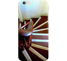Staircase..Yaquina Lighthouse, Newport, Oregon iPhone Case/Skin