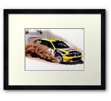 Seat Cordoba WRC Evo Framed Print