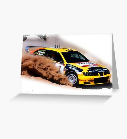 Seat Cordoba WRC Evo Greeting Card