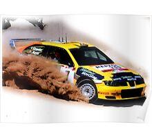 Seat Cordoba WRC Evo Poster
