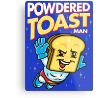 Super Toast Man Metal Print