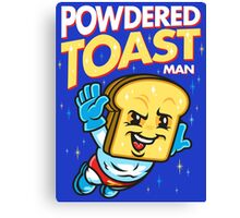 Super Toast Man Canvas Print