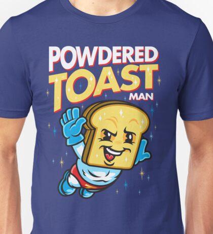 Super Toast Man Unisex T-Shirt