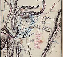 Civil War Maps 0266 Chattanooga Tenn 1863 by wetdryvac