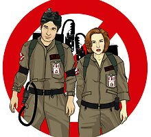 Ghostbusters Files - Mulder & Scully by leeminkyo
