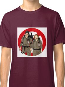 Ghostbusters Files - Mulder & Scully Classic T-Shirt
