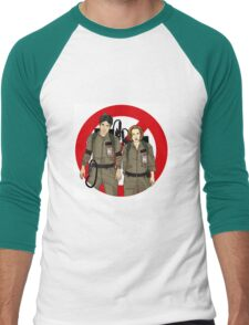 Ghostbusters Files - Mulder & Scully Men's Baseball ¾ T-Shirt