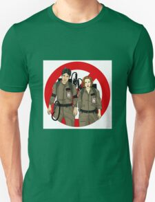 Ghostbusters Files - Mulder & Scully Unisex T-Shirt