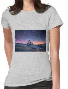 Montain Womens Fitted T-Shirt