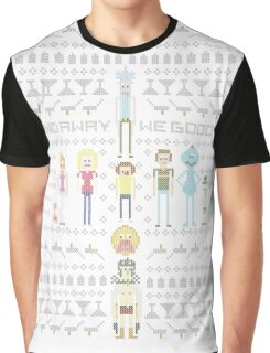 Rick and Morty Family Portrait Graphic T-Shirt