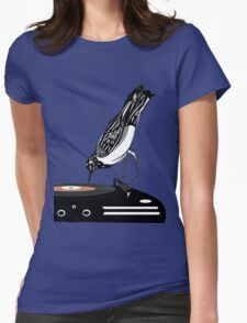 DJ magpie Womens Fitted T-Shirt