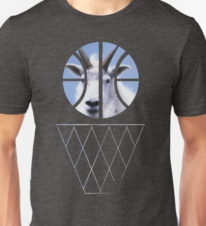 G.o.a.t. Basketball Unisex T-Shirt