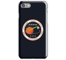 ARES 3 Mission Patch (Clean) - The Martian iPhone Case/Skin