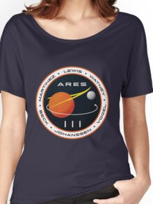 ARES 3 Mission Patch (Clean) - The Martian Women's Relaxed Fit T-Shirt
