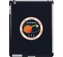 ARES 3 Mission Patch (Clean) - The Martian iPad Case/Skin