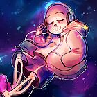 Sans in the space - Undertale by Fubu