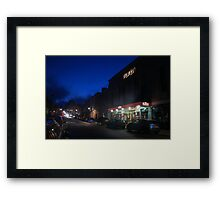 Plaza Picture House, Truro Framed Print