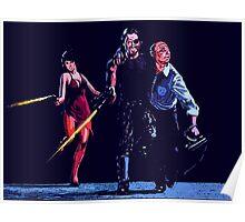 Maggie, Snake, Mr President Poster