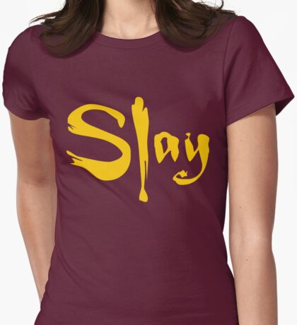 SLAY Womens Fitted T-Shirt