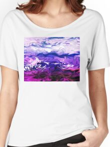 Abstract Ocean Fantasy I Women's Relaxed Fit T-Shirt