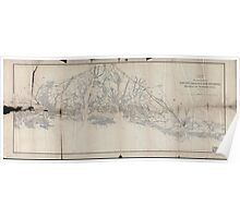 Civil War Maps 1627 Sketch of sea coast of South Carolina and Georgia from Bull's Bay to Ossabaw Sound 02 Poster
