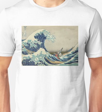 The Great Wave of Hyrule Unisex T-Shirt