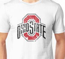Distressed Ohio State University Logo Unisex T-Shirt