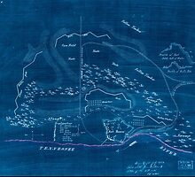 Civil War Maps 2176 Plan of Fort Henry and its outworks Inverted by wetdryvac
