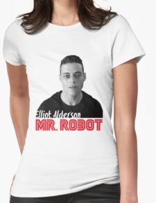 Mr. Robot – Elliot Alderson, Rami Malek Womens Fitted T-Shirt