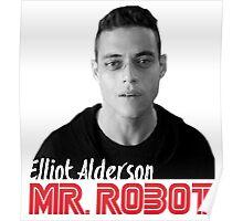 Mr. Robot – Elliot Alderson, Rami Malek Poster