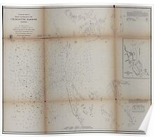 Civil War Maps 1475 Preliminary chart of main entrance to Charlotte Harbor Florida Poster