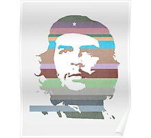 Che Guevara technicolor Poster
