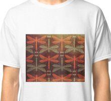 Dragonflies pattern Classic T-Shirt