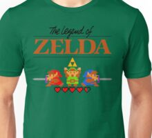 The Legend of Zelda Ocarina of Time 8 bit Unisex T-Shirt