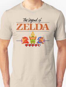 The Legend of Zelda Ocarina of Time 8 bit Unisex T-Shirt